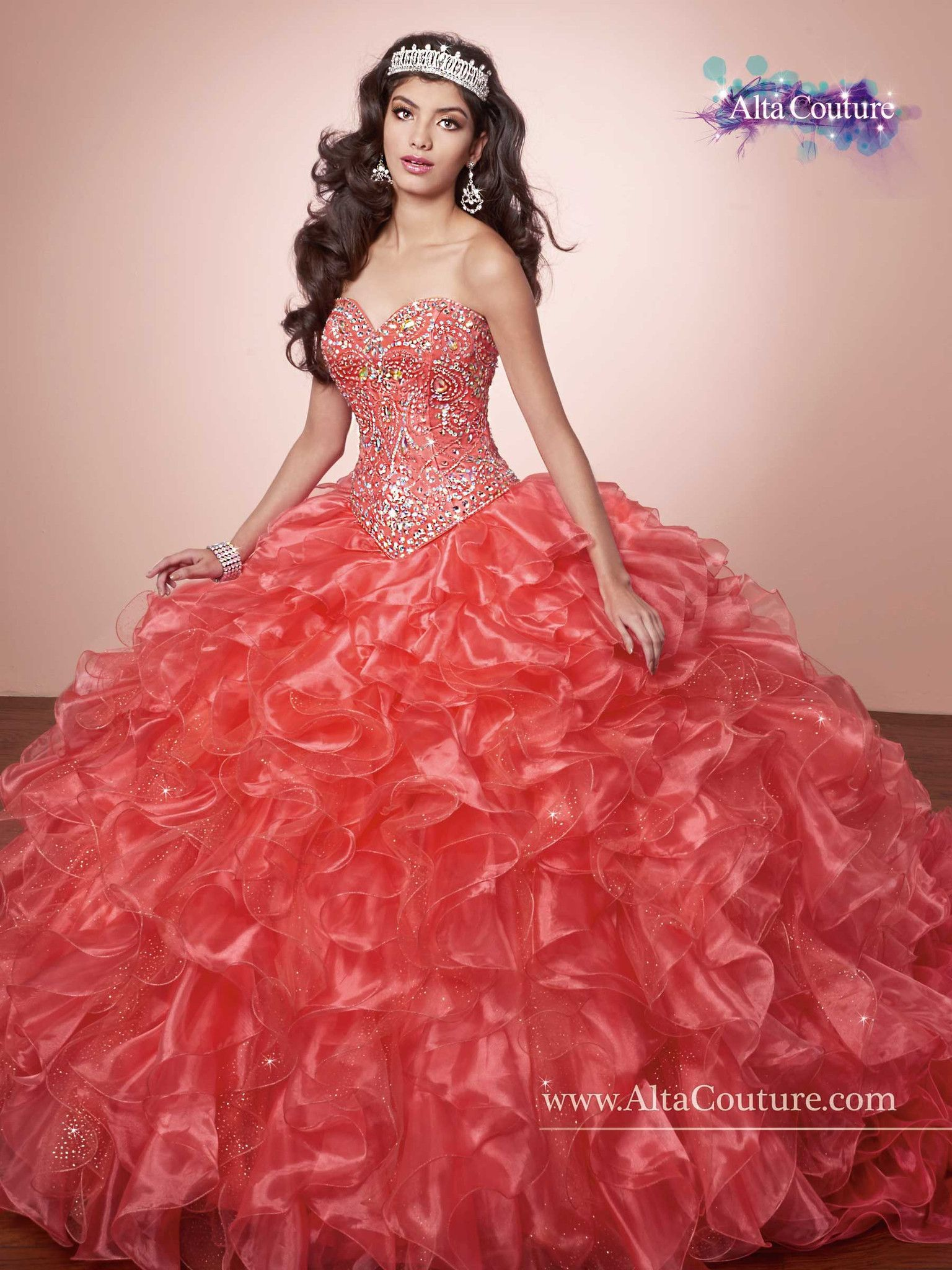 Mary\'s Bridal Alta Couture Quinceanera Dress Style 4T177