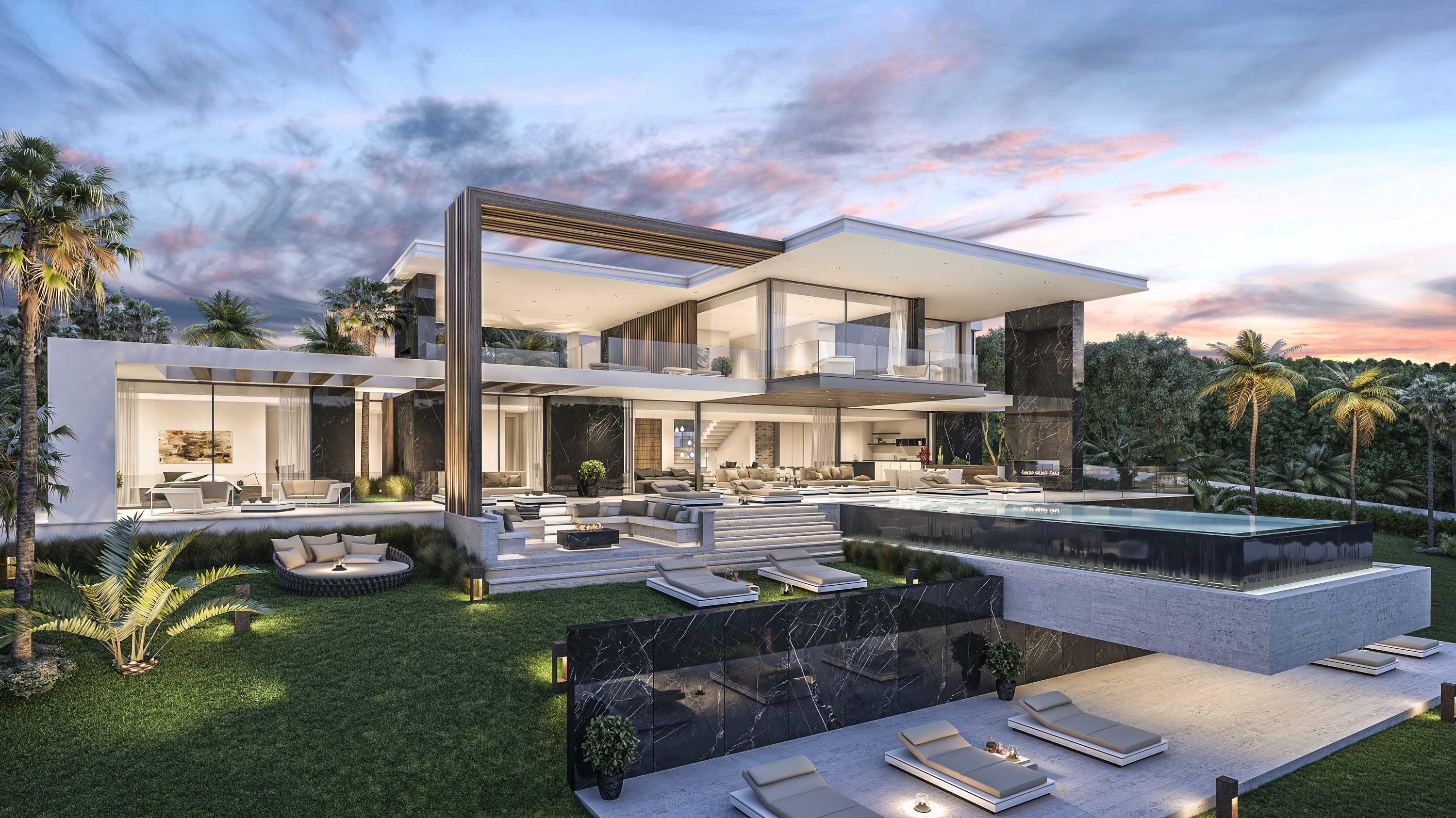 Architecture And Development Luxury Villa In California Usa Builders Construction Architects In Marbel Luxury Homes Dream Houses Mansions Exterior Design