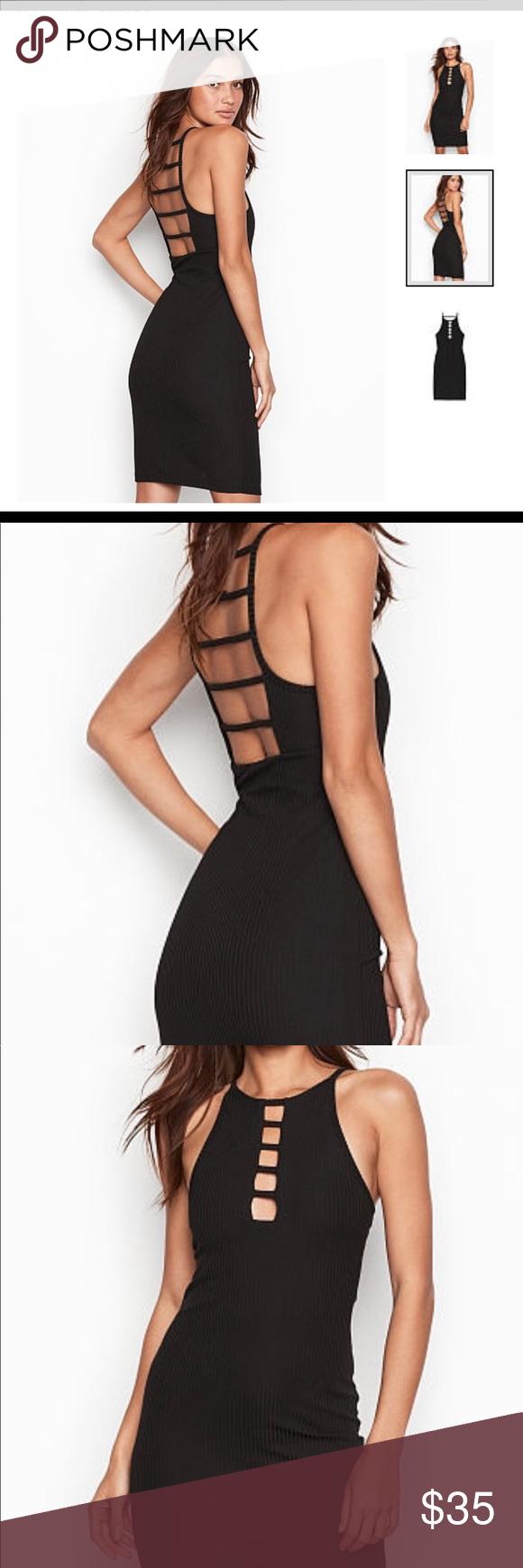 Victoria S Secret Dress Super Cute Black Dress Can Fit A Size 4 8 Victoria S Secret Dresses Mini Cute Black Dress Ribbed Dresses Secret Dress [ 1740 x 580 Pixel ]