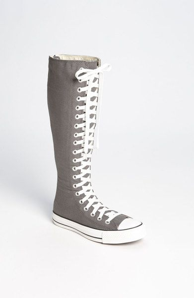 37c4147808a7 Chuck Taylor Xx Hi Knee High Sneaker in Gray (charcoal) - Lyst