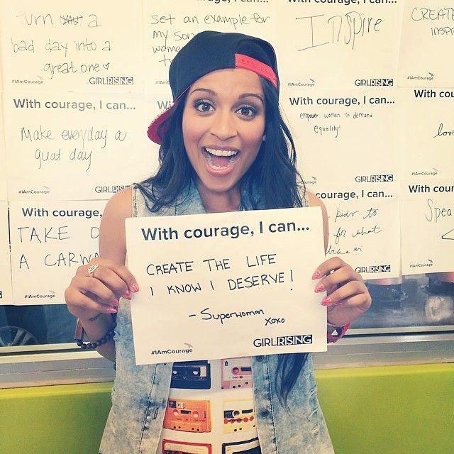 Lilly Singh is an inspiration. ️ unicornisland