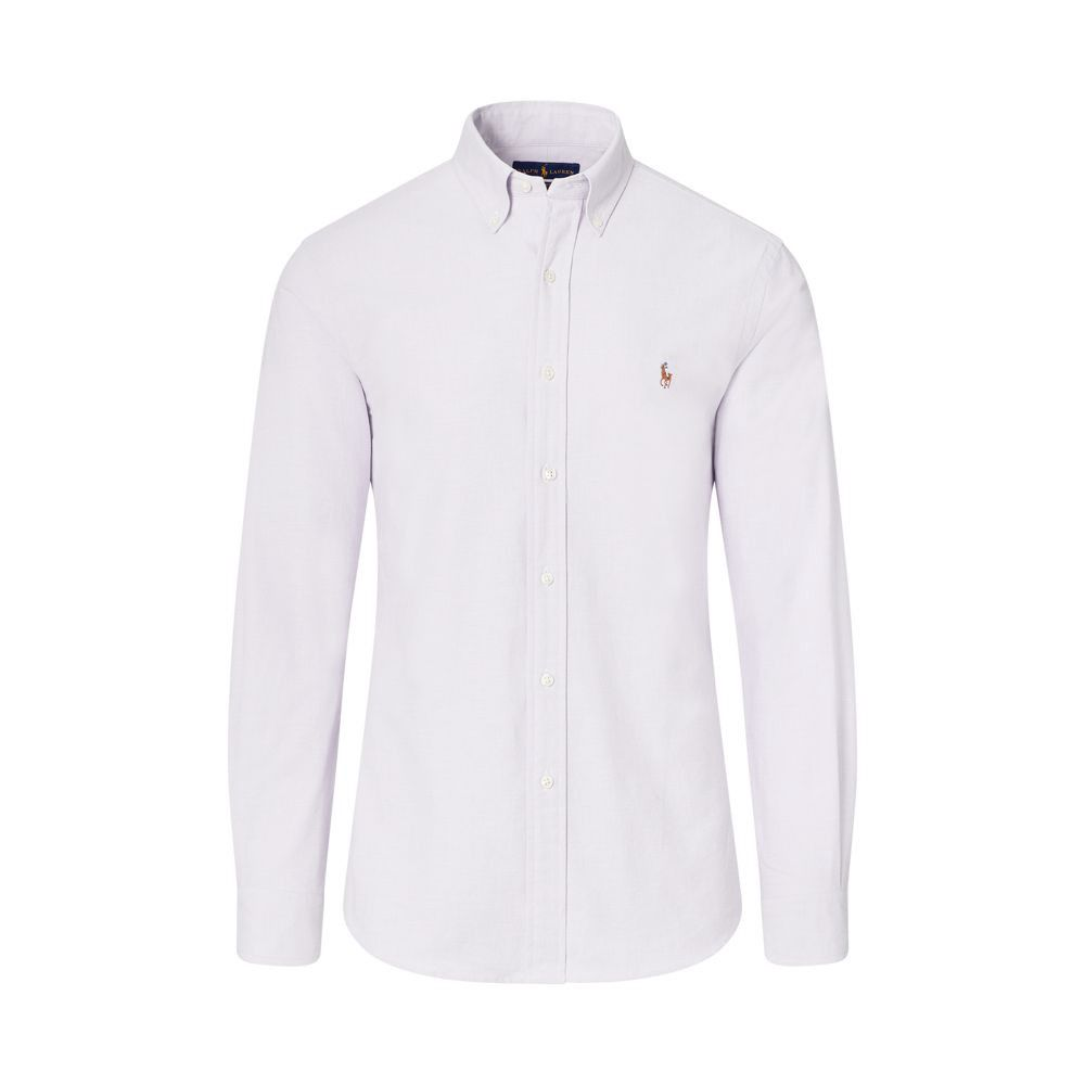 RALPH LAUREN Polo Ralph Lauren Slim Fit Stretch Oxford Shirt. #ralphlauren  #cloth #