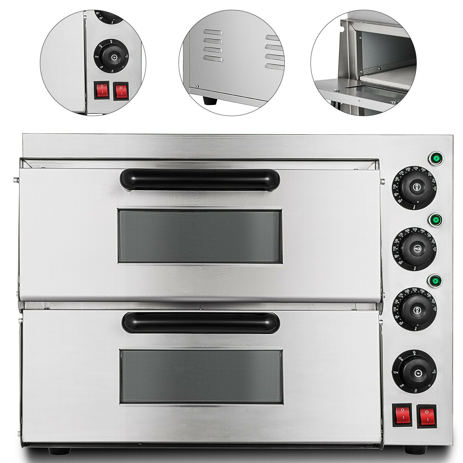 Electric Deck Oven In 2020 Deck Oven Pizza Oven Wood Fired Oven