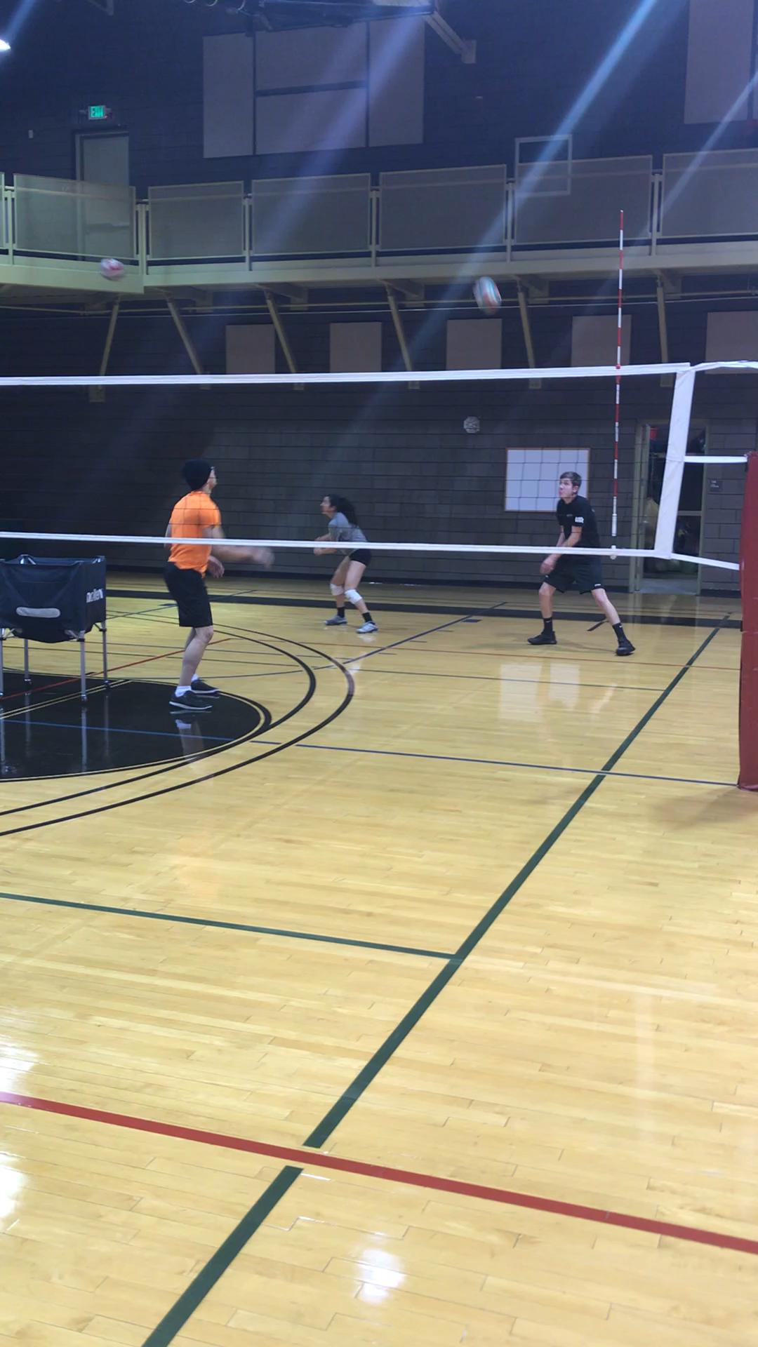 Four Volleyball Digging Drills We Do In Our Weekly Boot Camp Classes Video Coaching Volleyball Volleyball Drills Volleyball Practice