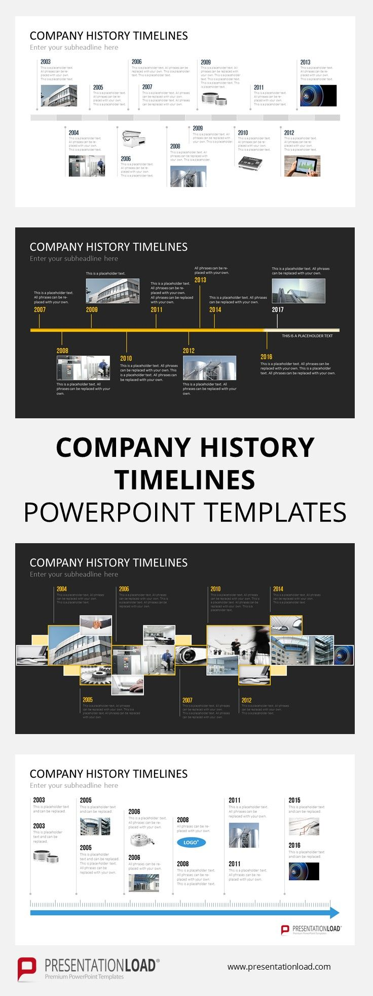 Need a quick overview of your company's history in your