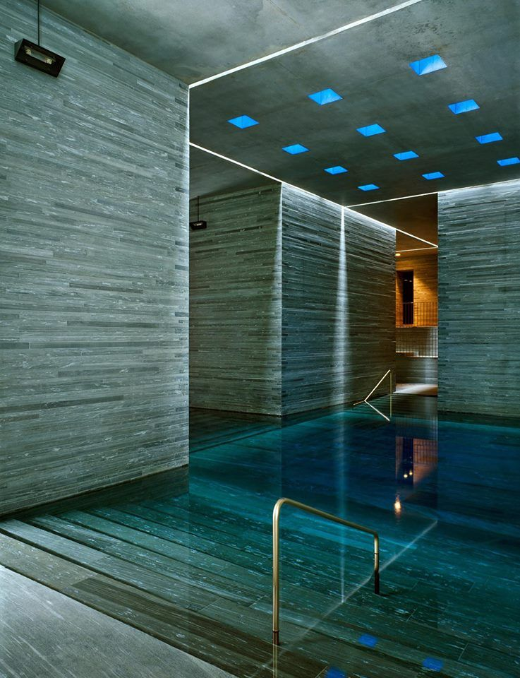 Peter Zumthor The Therme Vals Location Graubunden