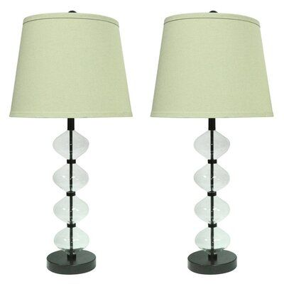 Ivy Bronx Beautor 22 Table Lamp Set Lamp Sets Lamp Table Lamp Sets