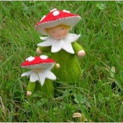 kit famille champignon en feutrine