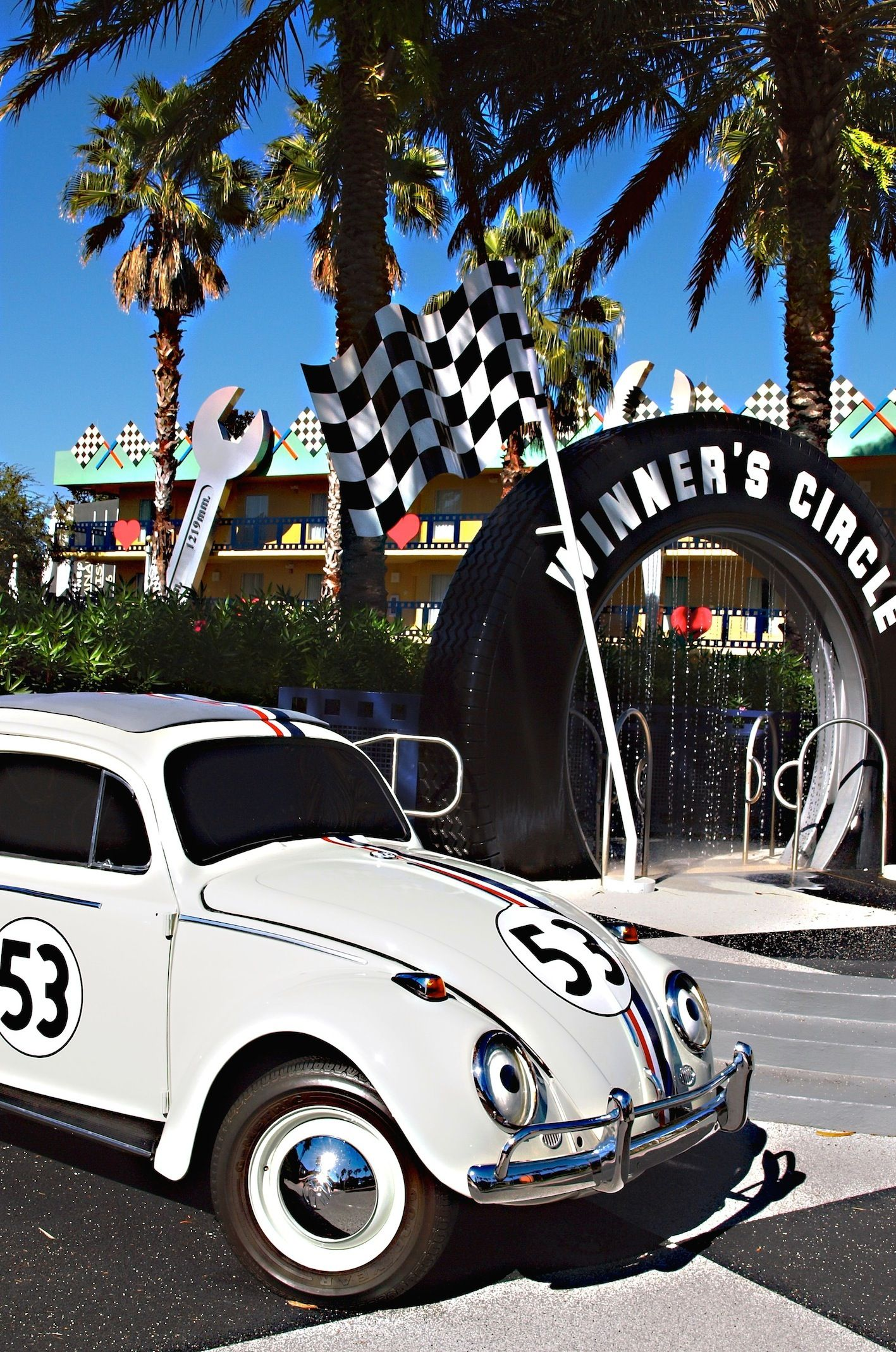 Disney Studio Herbie The Love Bug Classic Racing Cars Tv Cars Volkswagen [ 2138 x 1417 Pixel ]