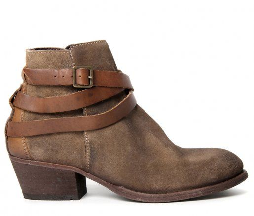 Hudson Bottines  Horrigan calf smoke Gris - Chaussures Bottine Femme