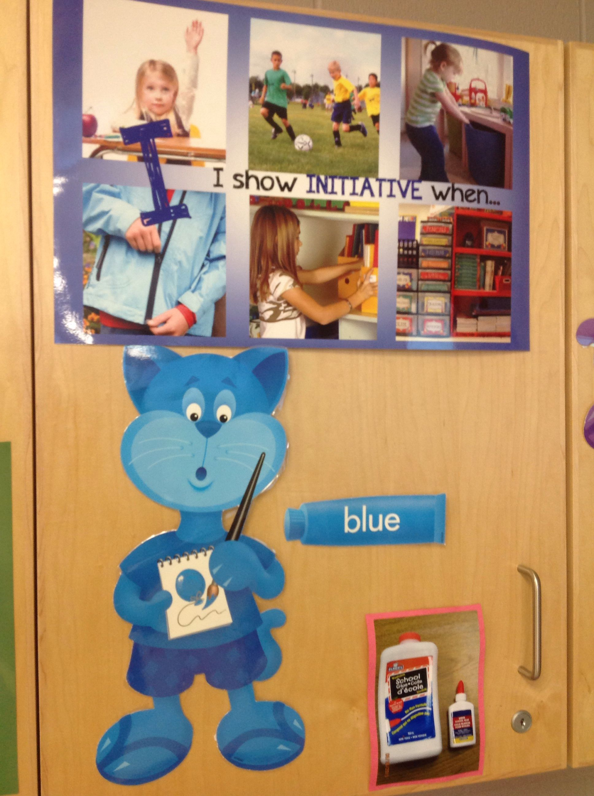 Initiative poster in the FDK classroom. | Skills to learn ...