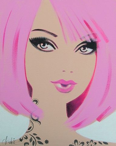 via debbie curtis barbie art - Can\'t Have Her) | Barbie and Other ...