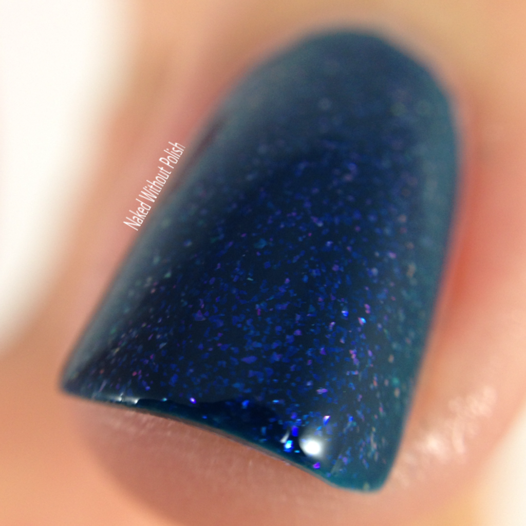 Macro of Blue-Eyed Girl Lacquer Siren's Lament @beglsales