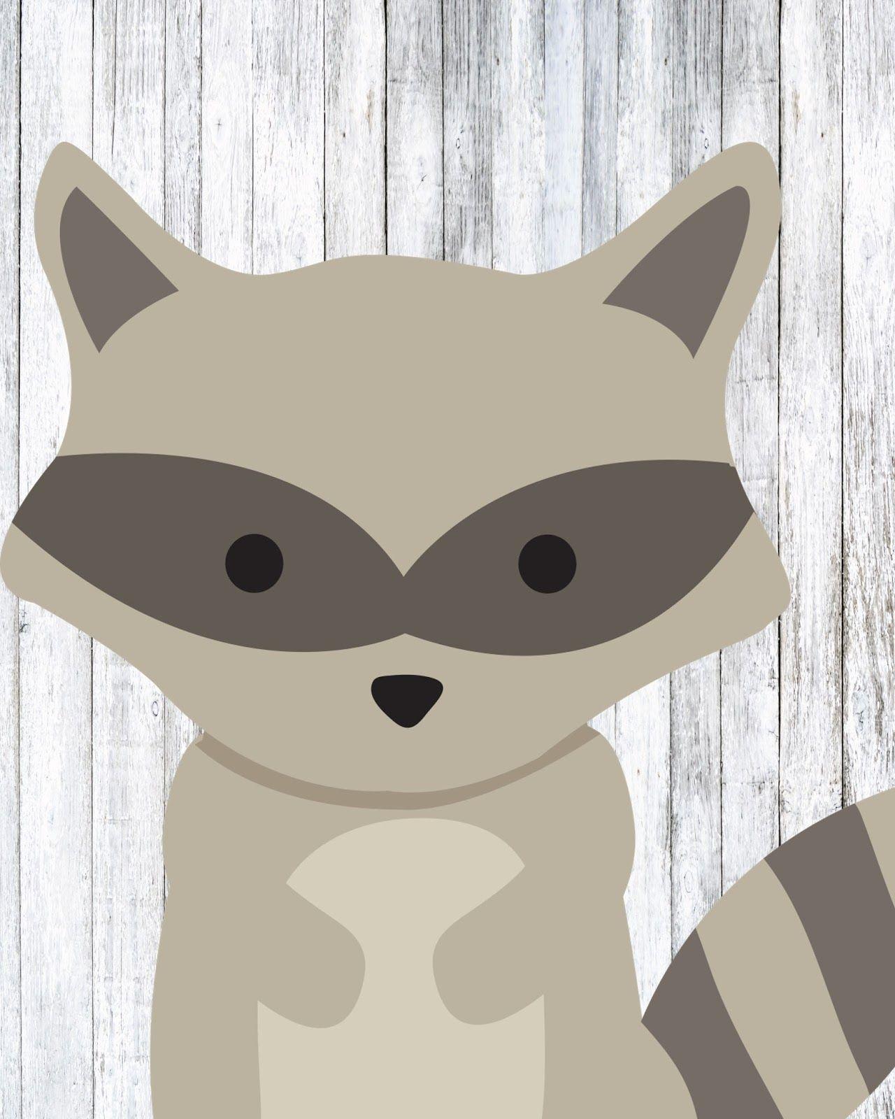 Free Woodland Animal Prints Nursery animal prints