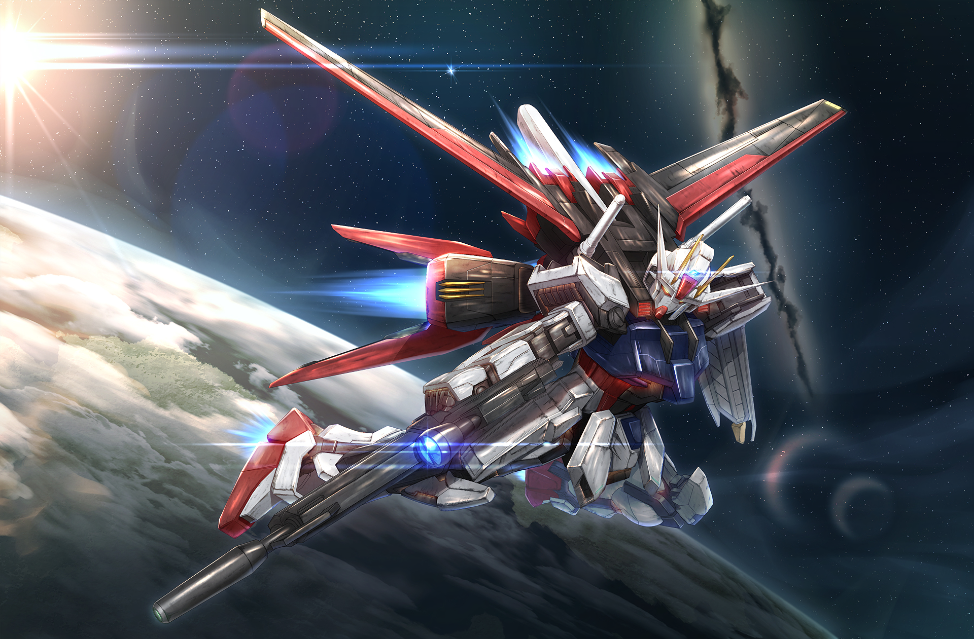 Mobile Suit Gundam Wallpapers Hd (Dengan gambar) Alam