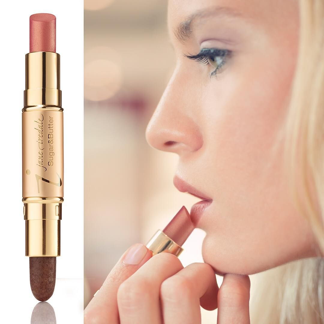 Jane Iredale On Instagram Beauty Tip Here S How To Get Kissably Soft Lips While Enjoying A Treat With Our Sugar Pink Lips Lip Exfoliator Fuller Lipstick