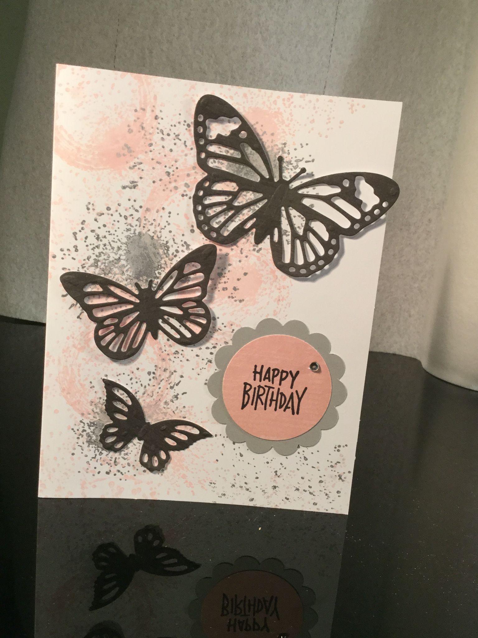 spellbinders butterflies  creative cards happy birthday
