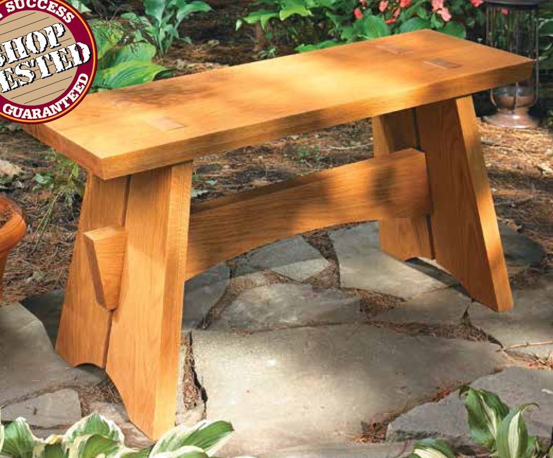 Easy To Build Garden Bench Outdoor Woodworking Projects Patio