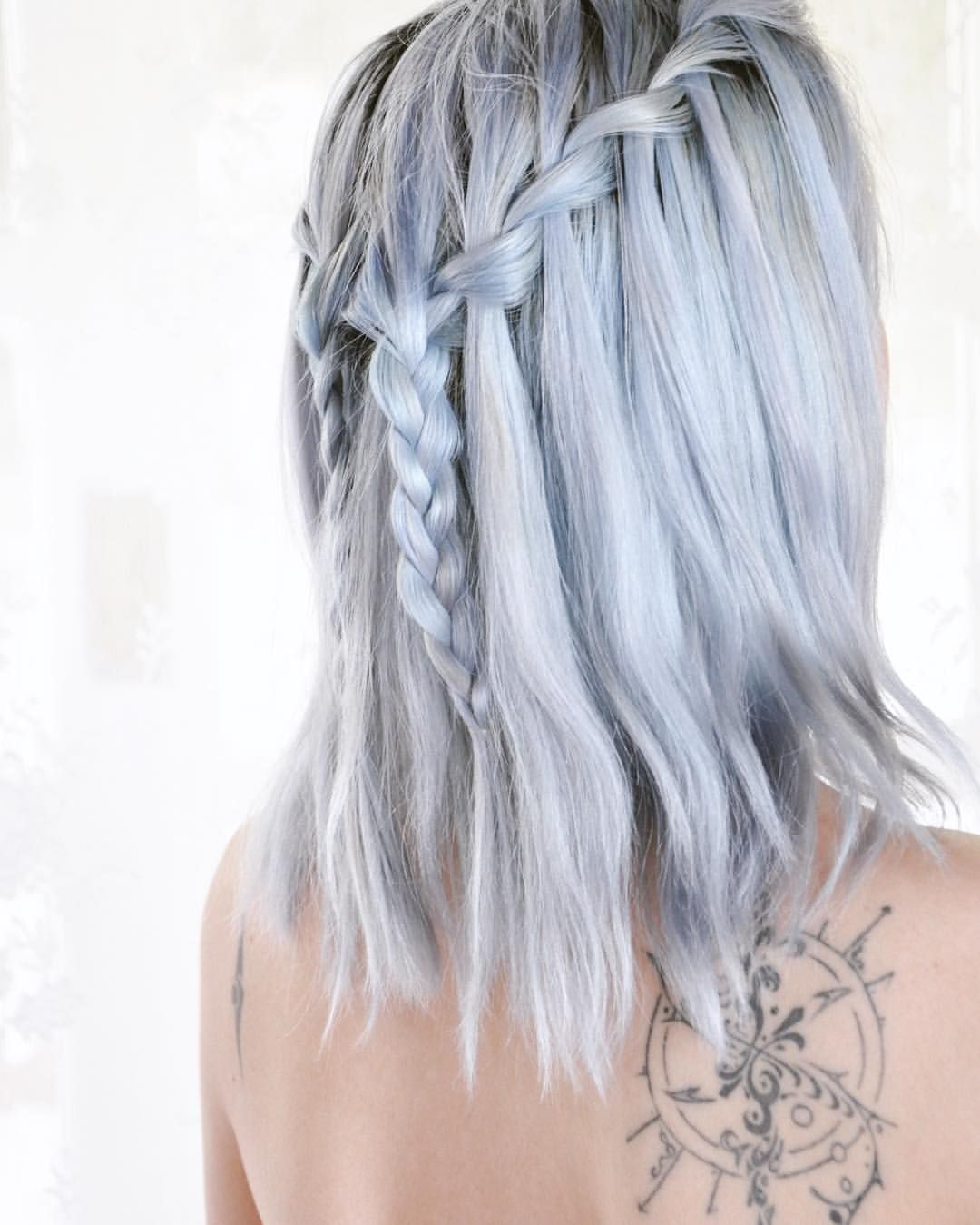 Arctic Fox Poseidon Periwinkle Sterling Silver Faded Hair