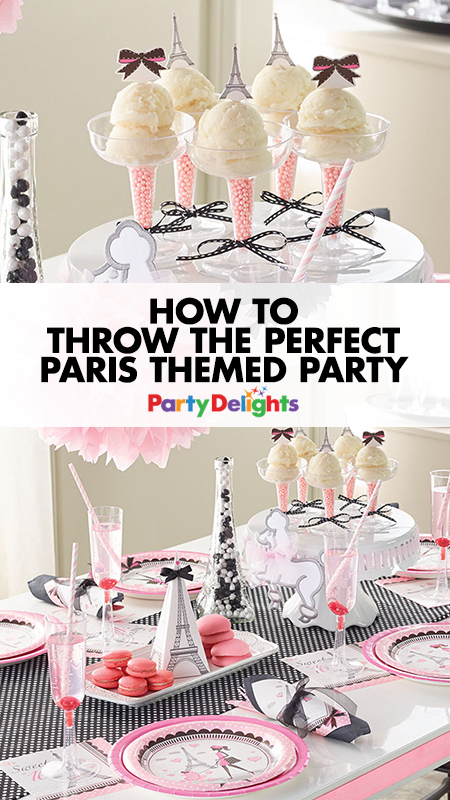 Delightful Paris Themed Party Decorating Ideas Part - 3: How To Plan The Perfect Paris Themed Party