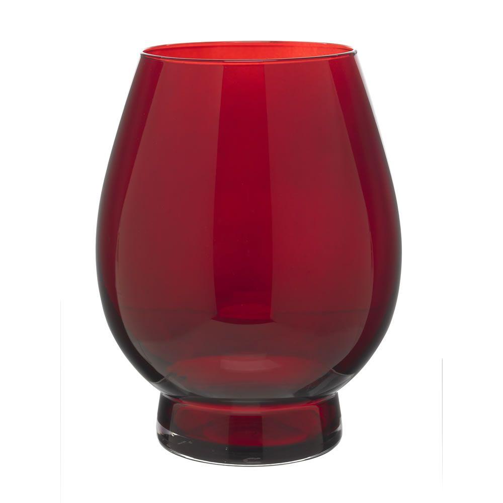 Hurricane vase red hurricane vase living rooms and room wilko hurricane vase red reviewsmspy