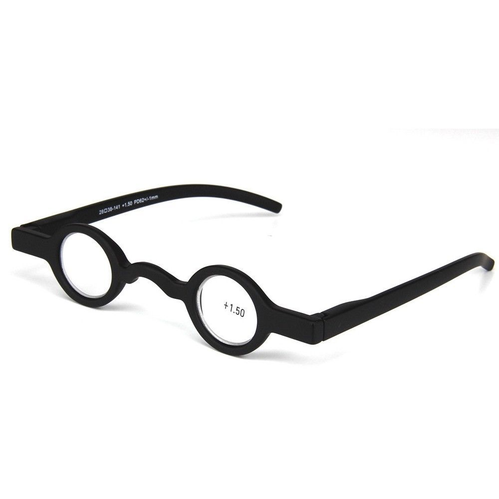 Mens Womens Small Round Reading Glasses 20200.20200 200.200 200.20200 Vintage ...