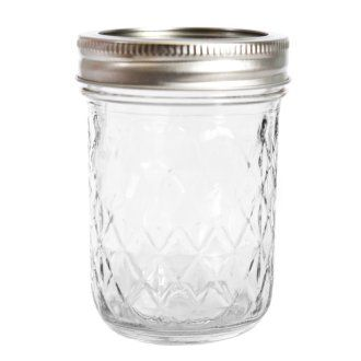Kerr Quilted Crystal 8 0x Jelly Jars Set Of 12 13 At The