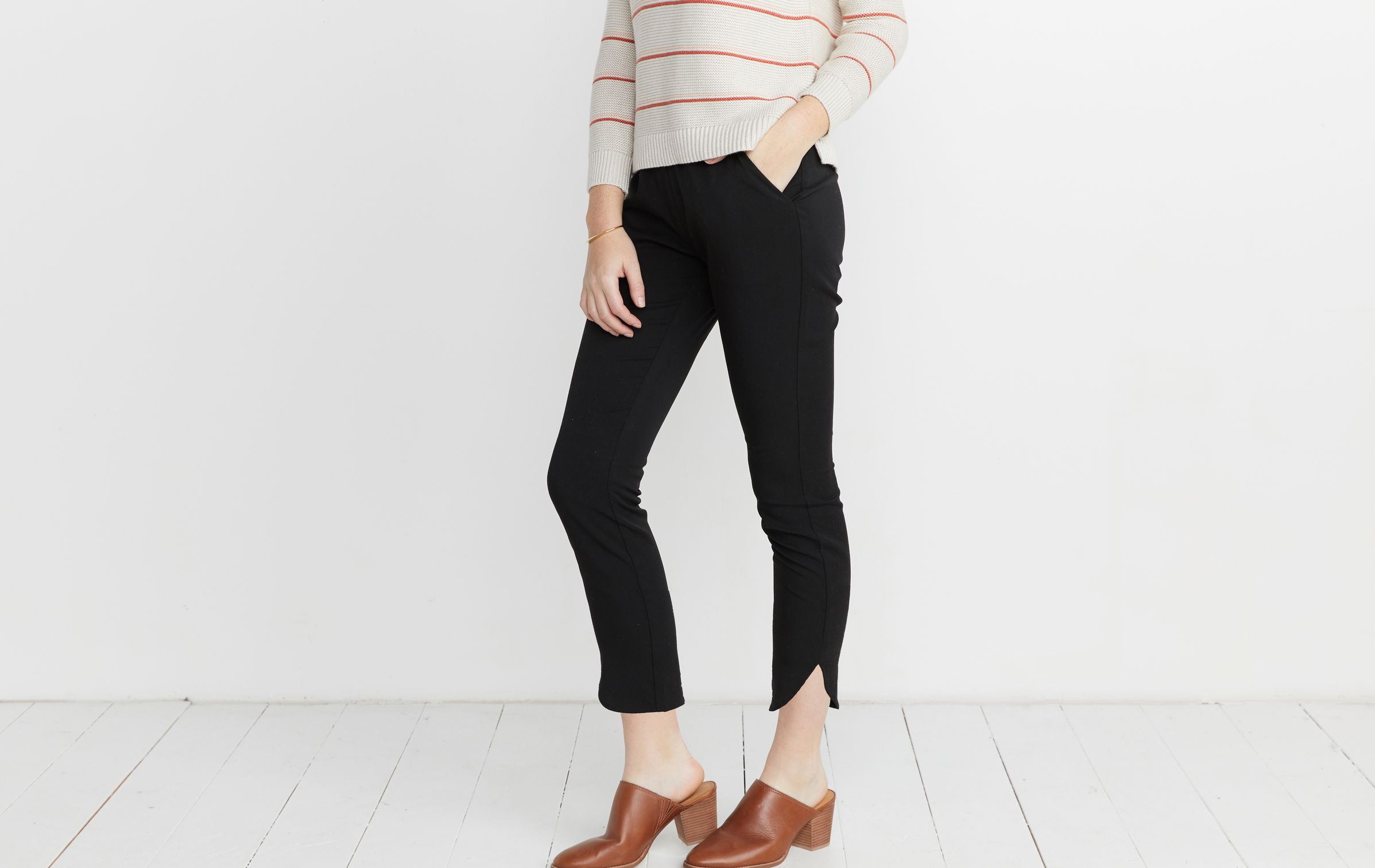 be6408ee1a Allison Pant in Black in 2019 | Amy's Wish List | Pants, Farmers tan ...