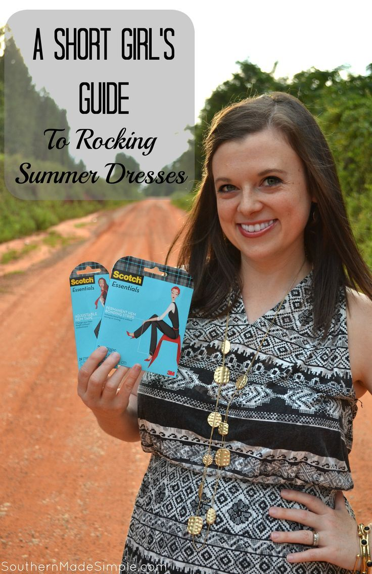ea6baa238638 A Short Girl s Guide to Rocking Summer Dresses - avoid the tailor and give  your clothing a new look!  WardrobeSolutions  ad
