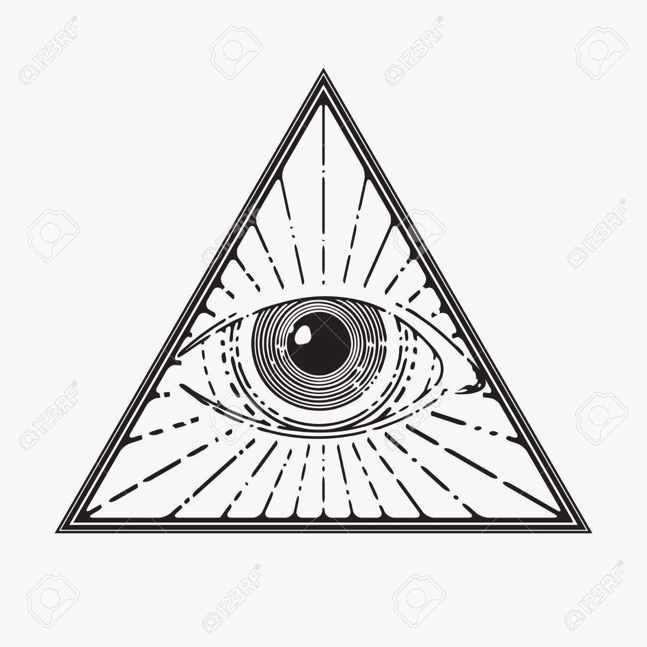 31280005 all seeing eye symbol vector illustration stock vector eye of providence all seeing eye symbol vector illustration illustration biocorpaavc