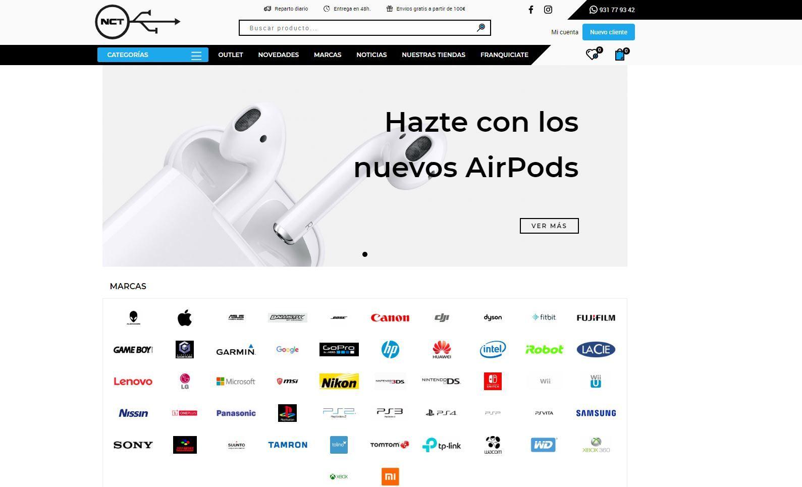Diseno Web Y Seo Para New Cash Technology Tienda Online De Venta