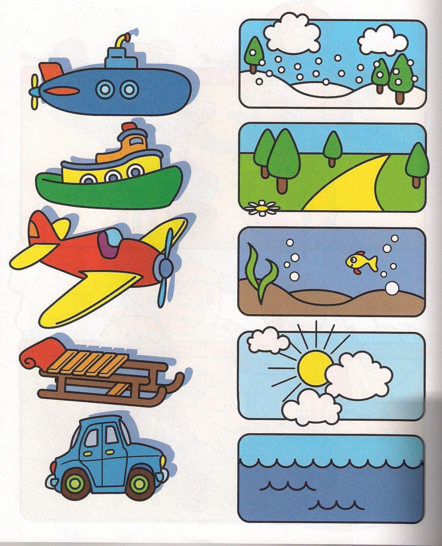 6 Hidden Pictures Worksheet Transportation In