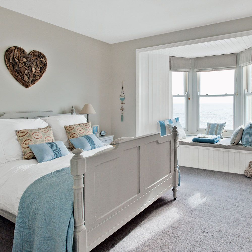 Beach themed bedrooms Coastal bedrooms Nautical