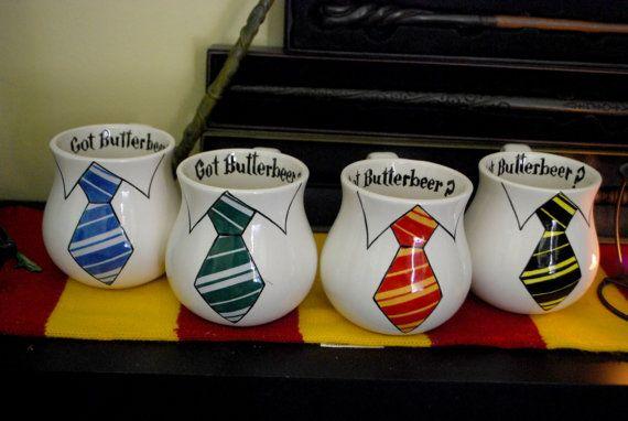 Harry Potter Coffee Mug Littleartmonsterr Etsy