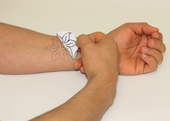 How to make real temporary tattoo ink at home without tracing paper