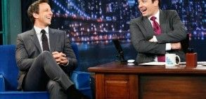 The Quiet Kid Moves to the Front of the Class: Seth Meyers On 'Late Night'