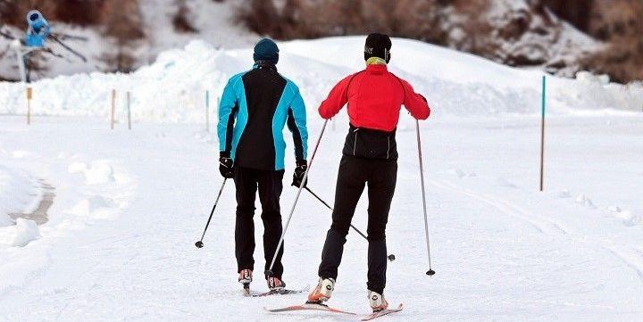 Winter sports in Alaska, USA