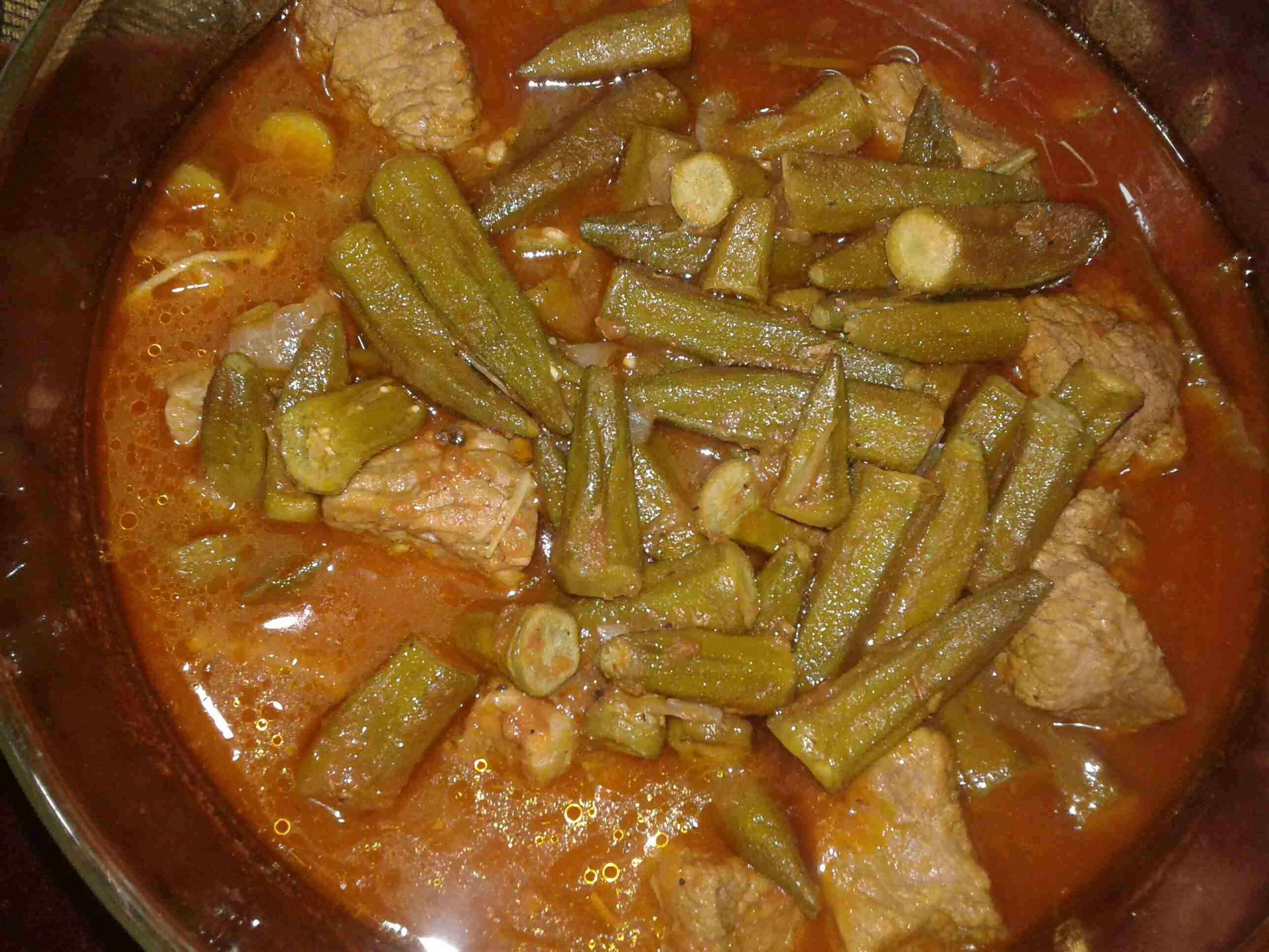 باميه باللحمه غذاء ودواء ملكة الاكلات الفلسطينية زاكي Recipe Cooking Recipes Cooking Main Dishes