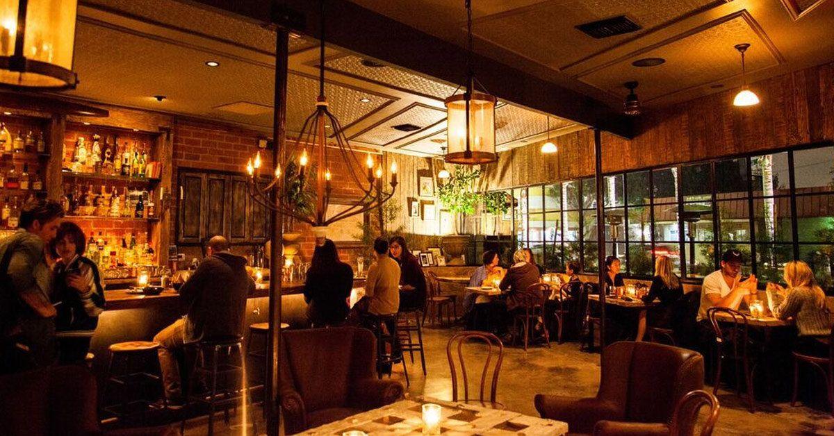 The 23 Essential Los Angeles Bars Los Angeles Bars Corner Door Happy Hour Specials