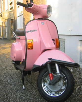 RAL 3015 Hellrosa | Vespa scooter, Vespa farben, Vespa