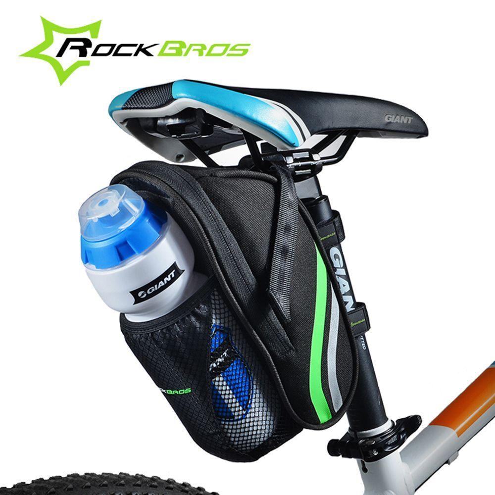 RockBros MTB Road Bike Cycling Pannier Saddle Bag Seat Water Bottle Bag