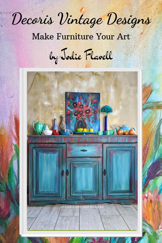 #decorisvintagedesigns #makefurnitureyourart #furnitureartist #furnituremakeover #chalkpaintedfurniture #dixiebellepaint #handpainted #bohemian #bohofurniture #bohodecor #rustic