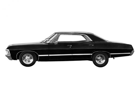 Chevy Impala From The TV Show Supernatural Dream Cars - Supernatural show car