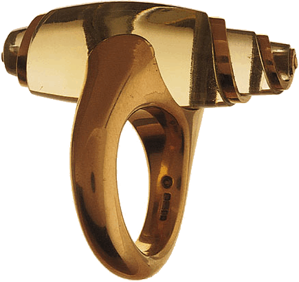 Charlotte De Syllas  Heliodor Twist Ring, 2002  Heliodor & 22ct gold  Photo: David Cripps