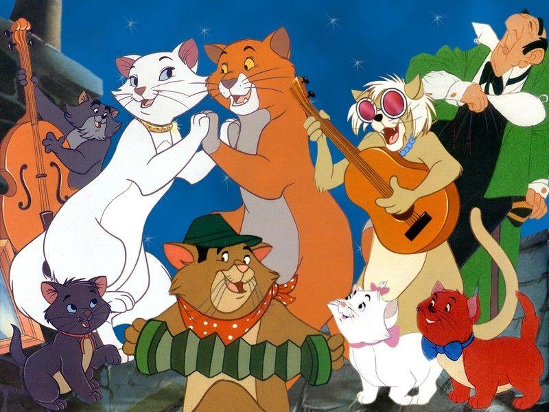 DUCHESS, THOMAS O\'MALLEY, EDGAR, GROOVY CAT, BERLIOZ, SCAT CAT ...