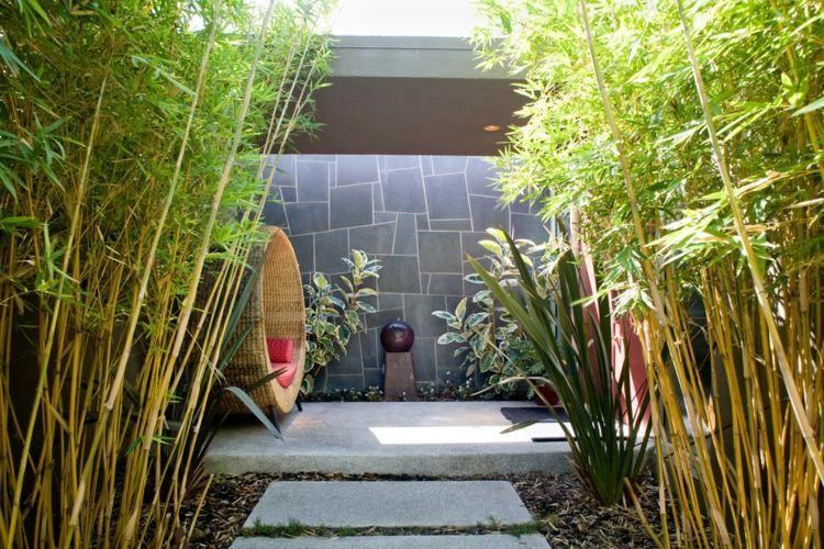 Aménagement jardin: 27 idées pour intégrer le bambou!   Bambou ...
