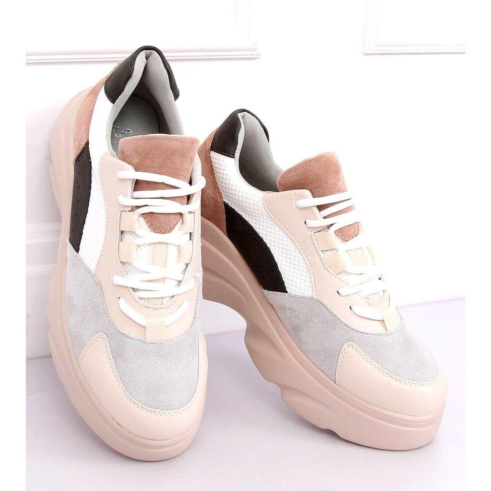 Buty Sportowe Nh 31 Beige Wielokolorowe Women Shoes Beige Shoes