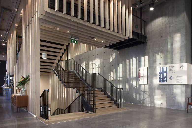 HOME Arts Centre, Manchester, 2015 - Mecanoo , Concrete Architectural Associates