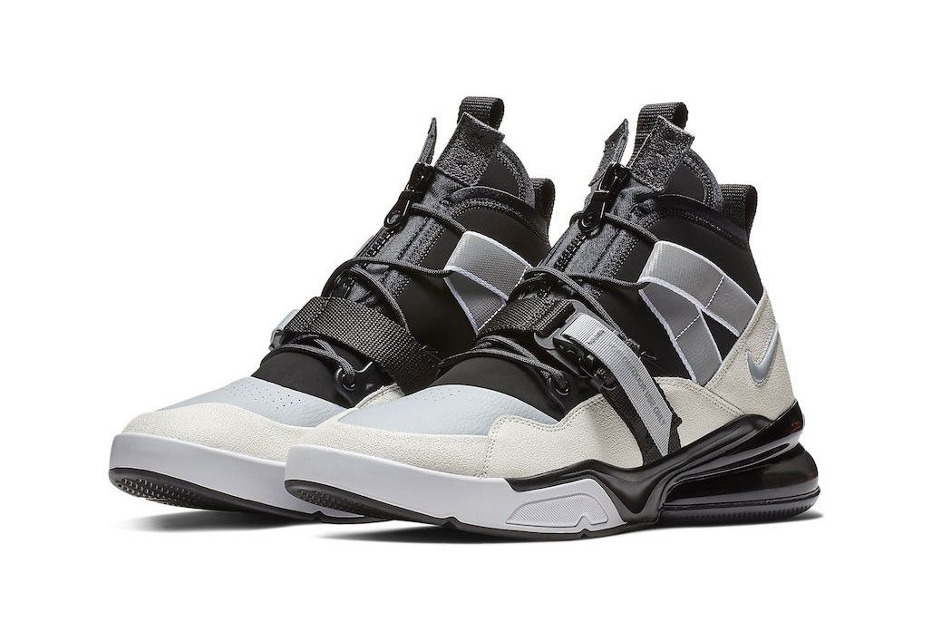 "Nike Set to Drop the Air Force 270 Utility in a Clean ""Black"