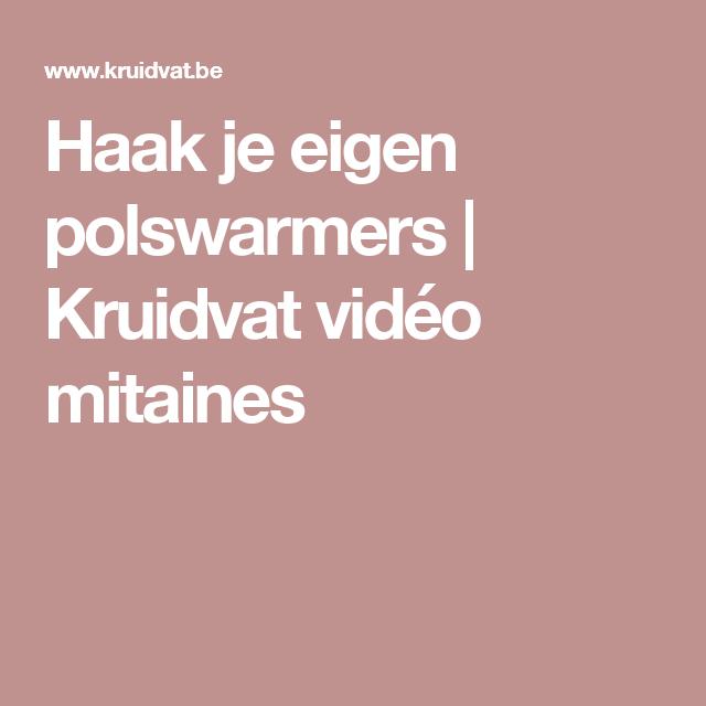 Haak je eigen polswarmers | Kruidvat vidéo mitaines